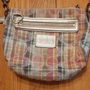 Coach Bags - Coach shoulder bag purse multicolored